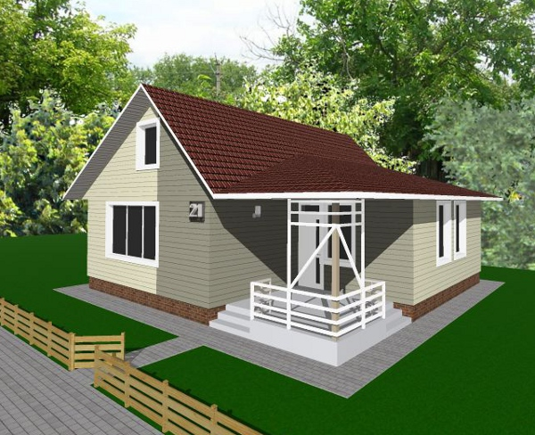 Проект дешевого дома